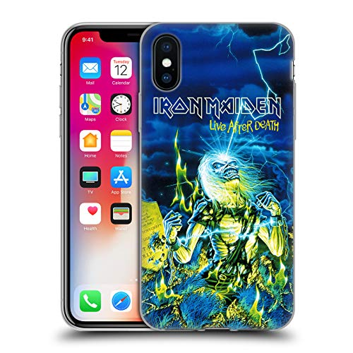 Official Iron - Official Iron Maiden Live After Death Tours Soft Gel Case for iPhone X/iPhone Xs