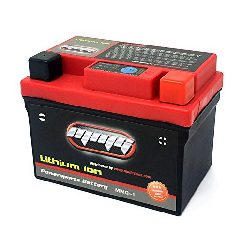 MMG YTX4L-BS 4L-BS Lithium Ion Sealed High Performance Powersports Battery 12V 120CCA Motorcycle Scooter ATV, Factory Activated, Ready to Use (MMG1)