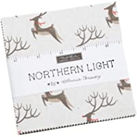 Northern Light Charm Pack by Annie Brady; 42-5 inch Precut Fabric Quilt Squares