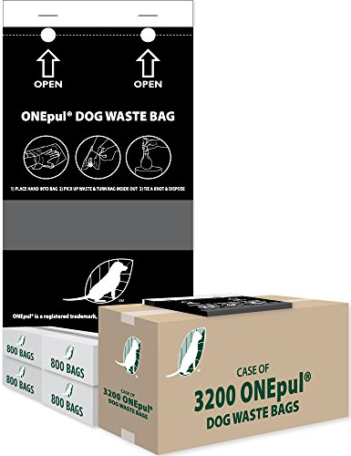 - ZW USA Inc OnePul Dog Waste Bags (1 case = 3200 OnePul Bags)