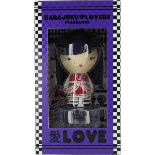 Gwen Stefani Harajuku Lovers Wicked Style Love Eau de Toilette Spray, Mini, 0.33 Ounce