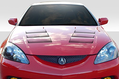 Duraflex ED-AOD-376 TS-1 Hood - 1 Piece Body Kit - Compatible For Acura RSX 2002-2006