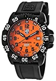 Men's Special Edition Scott Cassell Black Polyurethane Orange Dial Set