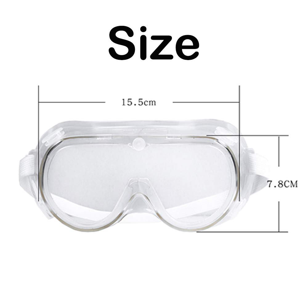 Gafas de seguridad antivaho envueltas de seguridad con impacto ocular selladas 7