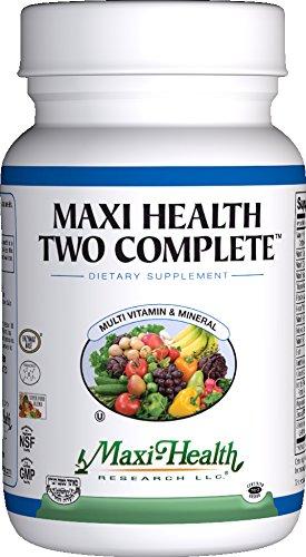 Maxi salud dos mas - multivitaminas y minerales - completo potencia - 60 cápsulas - Kosher