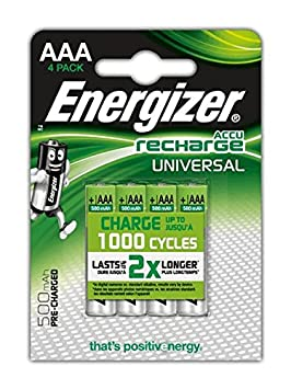 Energizer 635673 Power Plus Batería, AAA, 500 Mah