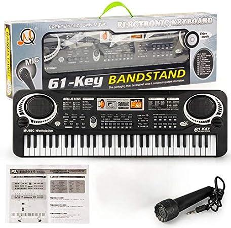 61 teclas Música Teclado electrónico digital Órgano eléctrico ...