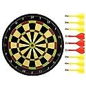 安全Magnetic Dart Board Set投げスポーツダーツおもちゃギフト35cm-02