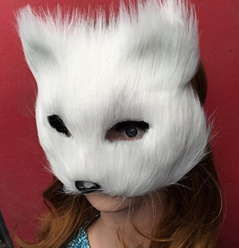 Masquerade masks and animal half face cat Mask Halloween pro