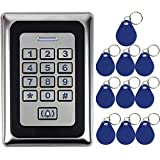 FidgetFidget Keypad WG26 Access Control+10x125KHZ Card for Home&Office Card+PIN Standalone