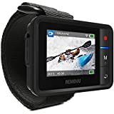 Removu REMOVU R1+ (Plus) Waterproof (IPX7) Wireless Remote Viewer and Controller for GoPro
