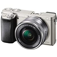 Sony Alpha a6000 Mirrorless Camera w/16-50mm & 55-210mm Lenses & 128GB Bundle from Sony
