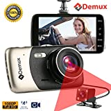 """DEMUX Dual Dash Cam Front and Rear 