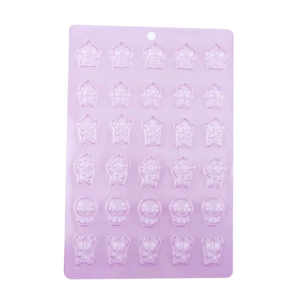 100 PCS Chocolate Molds Baby Shower Candy Making Supplies Jelly Maker Wholesale KW046 Supermen