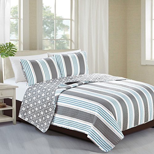 Home Fashion Designs 2-Piece Coastal Beach Theme