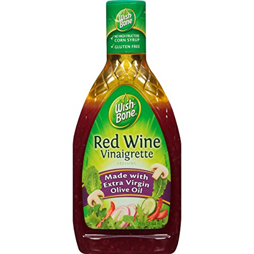 Wish-Bone Salad Dressing, Red Wine Vinaigrette, 15 - Vinaigrette Dressing Wine