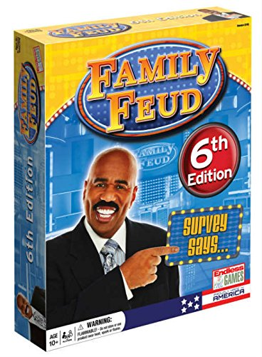 Family Feud 6th Edition -  Game Show Home Edition - Family Dvd Game