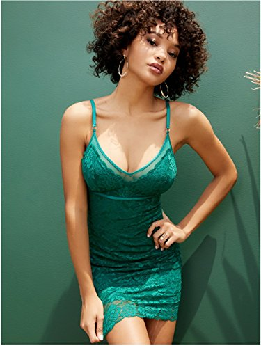ace Cami Dress (Lace Trim Mesh Cami)