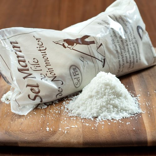 Fine Sea Salt from Noirmoutier - 1 x 35.2 oz bag