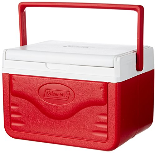 Coleman FlipLid Cooler, 5 Quart , Red ()