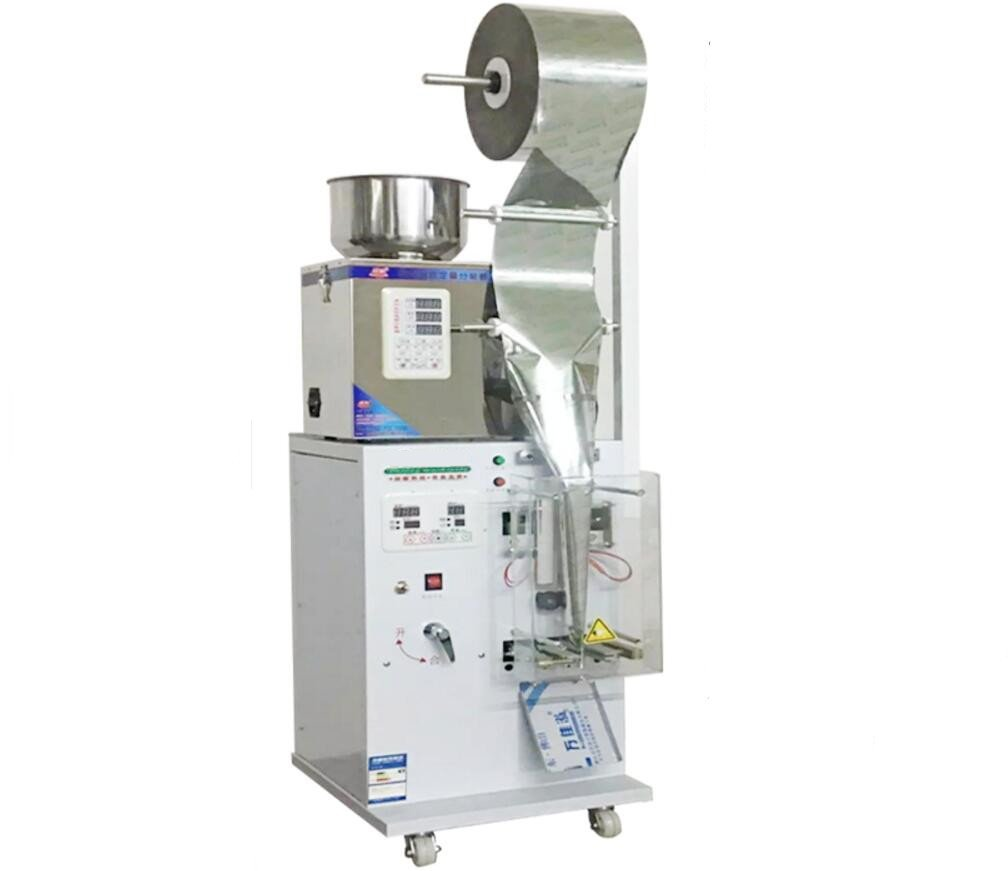 NEW 2-100g Full Automatic Foil Pouch Weight And Filling Packaging ...