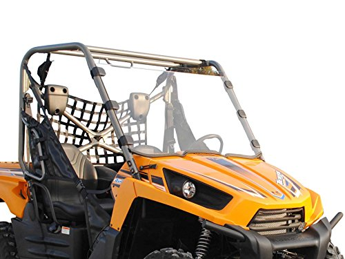 Teryx Body - SuperATV Heavy Duty Scratch Resistant Full Windshield for Kawasaki Teryx 750 (2010-2013) - Hard Coasted for Extreme Durability and Long Life - Installs in 5 Minutes!