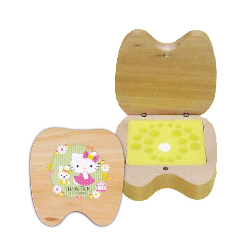 Agusa Hello Kitty Milk Teeth Memory Box, 1 Count