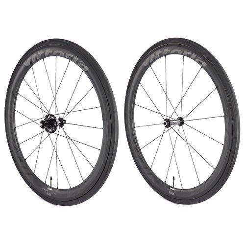 Vittoria Qurano 60 Carbon Tubular Road Bicycle Wheelset (700C/ 60mm)