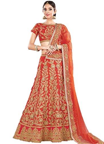 EthnicWear Elegant Bridal Wedding Reception Wear Latest Indian Pakistani Best Lehenga (Pakistani Bridal Lehenga)