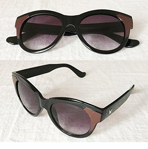 Sunglasses 5 Lunettes Lunettes personnalisées Couleur 2 Soleil Dames des Retro Sunglasses Korean de Trend 16vqvFRfw