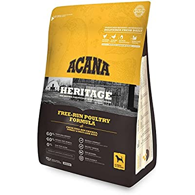 ACANA (1 Bag) Free Run Poultry Dry Dog Food, 4.5 lb