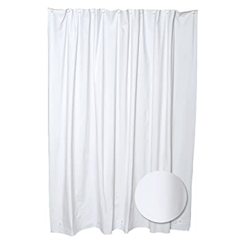 Amazon.com: Commercial Grade 10ga. Vinyl White Heavy Duty Shower ...