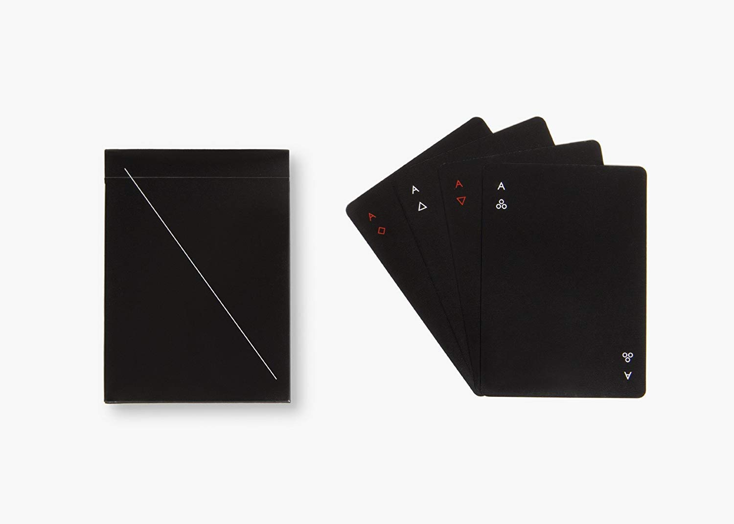 MINIM Playing Cards, Black by Areaware