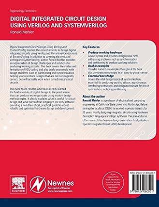 new digital integrated circuit design using verilog and rh almansur es