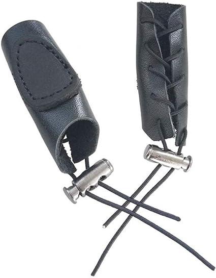 Gant Tir à l/'arc Main Doigts Protecteur Pour Chasse Garde en Cuir Dark Archer