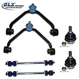DLZ 6 Pcs Front Suspension Kit-Upper Control Arm Lower Ball Joint Sway Bar Compatible with 1998-2001 Ford Ranger 1995-2003 Ford Explorer 1997-2001 Mercury Mountaineer 99-01 Mazda B2500(1 piece design)