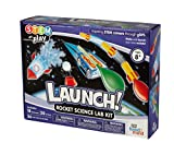 LAUNCH! Rocket Science Kit, 18 STEM Activities, Make Your Own Rocket & Solar System, Rocket Races