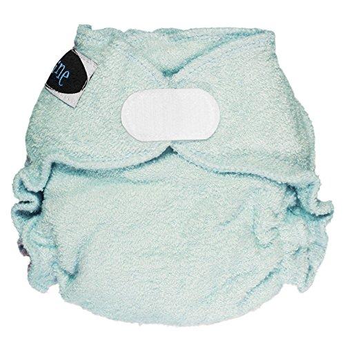 Imagine Baby Products Newborn Fitted Bamboo Diaper 2.0, Indigo, H&L