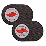 FOKUS 3 inch 3'' x 1/16'' x 3/8'' Arbor Metal and Stainless Steel Cut Off Wheels PACK OF 20