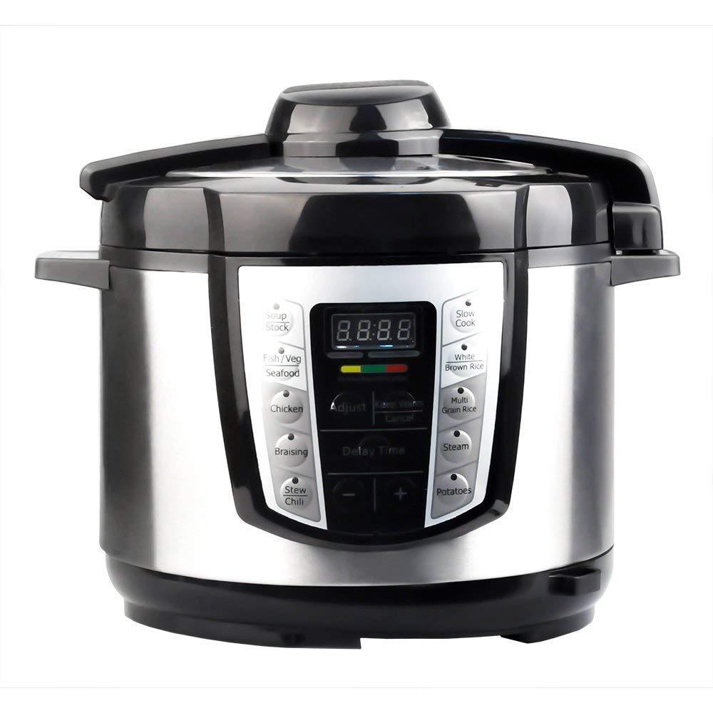 PowerDoF YA600 10-in-1 Multi- Use Programmable Electric Pressure Cooker,5L,900W