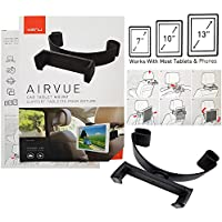 Kenu Airvue | Car Headrest Tablet Mount for iPad 1/2/3/Air/Air 2/Mini/Pro/Galaxy Tab/Kindle Fires and Surface Pros with MKK Stylus Pen (Certified Refurbished)