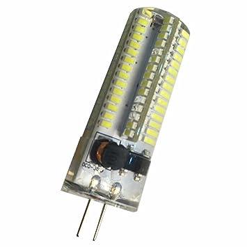 HHF LED Bulbs Lamps, Bombillas LED G4 AC / DC12-24V 6 vatios 3000K