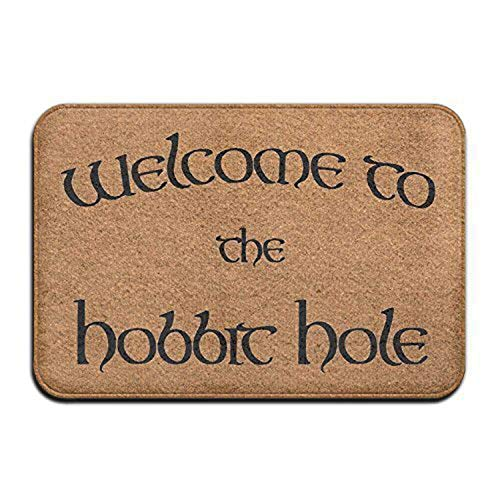 Jugbasee Welcome to The Hobbit Hole Unisex Baby Short Sleeve Onesies Outfit Bodysuit]()