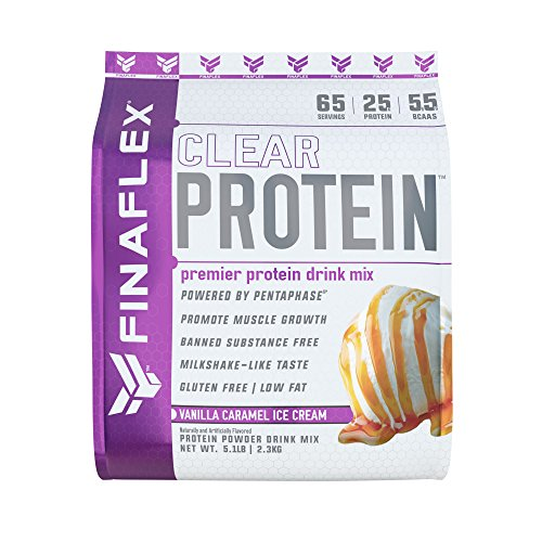 Clear Protein, Premier Protein Drink Mix, Milkshake-Like Taste, for Men and Women of All Ages, Muscle Growth and Recovery, Gluten-Free, Low Fat Vanilla Caramel Ice Cream, 5 Pound
