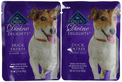 Blue Buffalo Blue Divine Small Breed Duck Food, 24 by 3 oz.