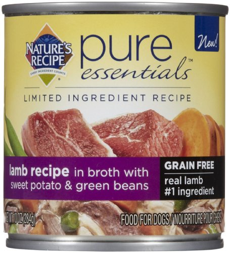 J.M Smucker Company-Big Heart Nature's Recipe Pure Essentials Grain Free Lamb, 1 Count, One Size