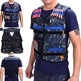 Yosoo Kids Childrens Elite Tactical Vest for Nerf Gun N-strike Elite Series (Only Vest)