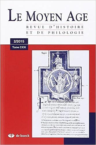 Livre gratuits en ligne Revue du Moyen-Age : N° 2/2015 epub pdf
