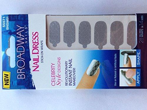 Broadway Nails Fashion Diva, Short Length, Strut, 53016 by Broadway Nails Broadway Fashion Diva Glue