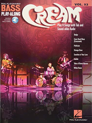 Cream (Hal Leonard Bass Play-Along)